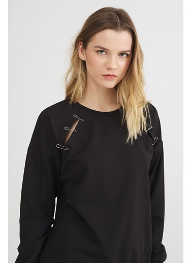 Love My Body Sweatshirt Siyah